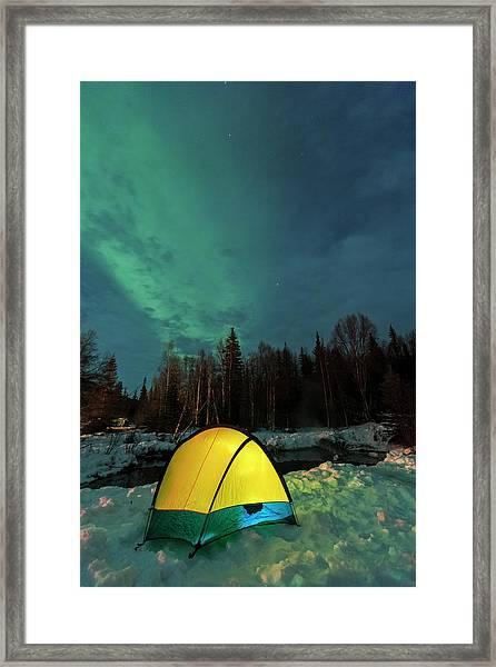 Aurora Borealis, Northern Lights Framed Print by Stuart Westmorland