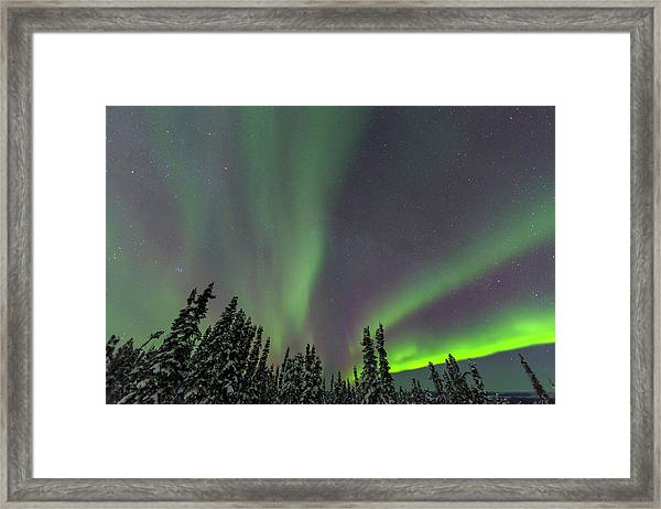 Aurora Borealis, Northern Lights Framed Print by Stuart Westmorland