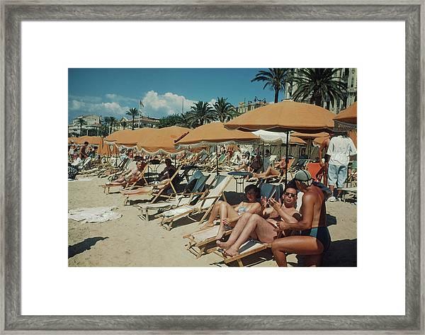 Cannes France Framed Print