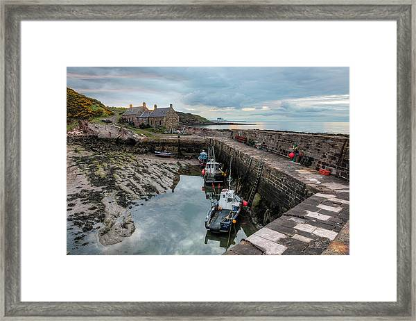 Cove - Scotland Framed Print