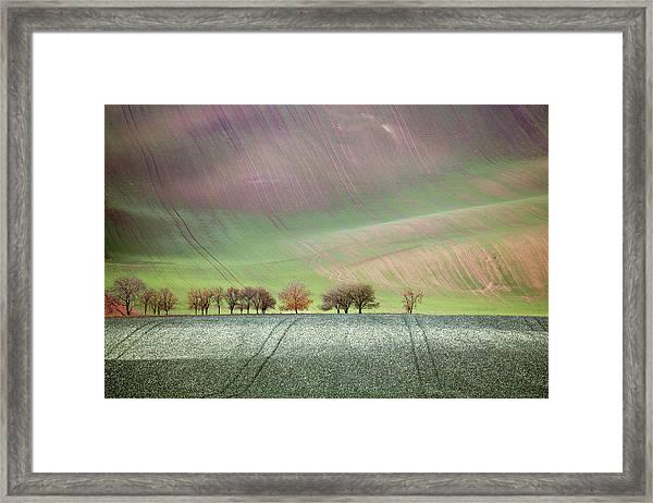 Autumn In South Moravia 3 Framed Print