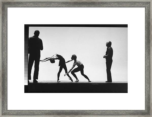 George Balanchine Framed Print