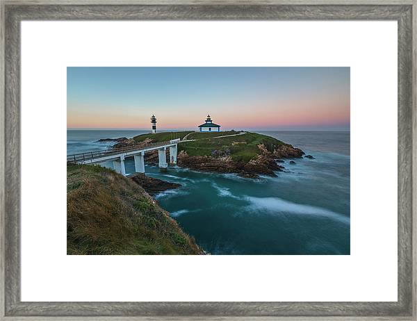 Illa Pancha - Spain Framed Print