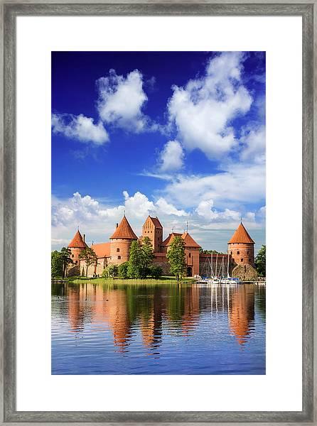 Lithuania, Vilnius Framed Print by Miva Stock