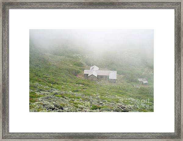Madison Spring Hut - White Mountains New Hampshire  Framed Print