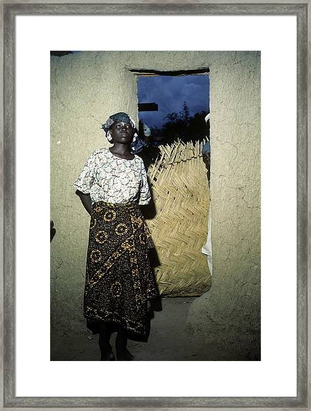 Maiduguri Nigeria Framed Print by Michael Ochs Archives