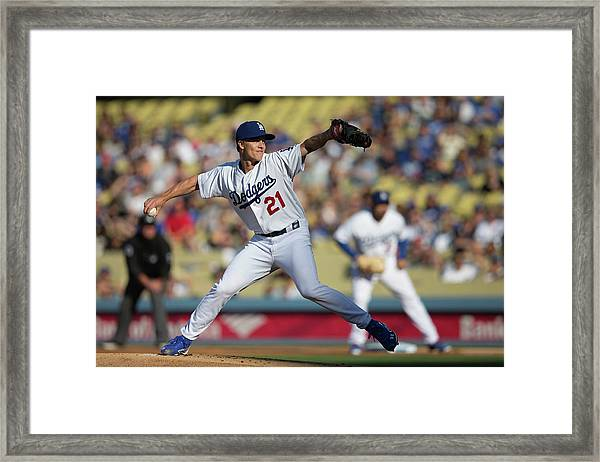 San Francisco Giants V. Los Angeles Framed Print