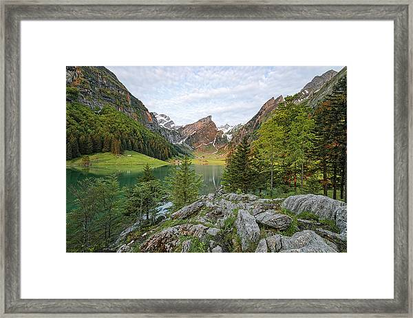 Seealpsee - Switzerland Framed Print
