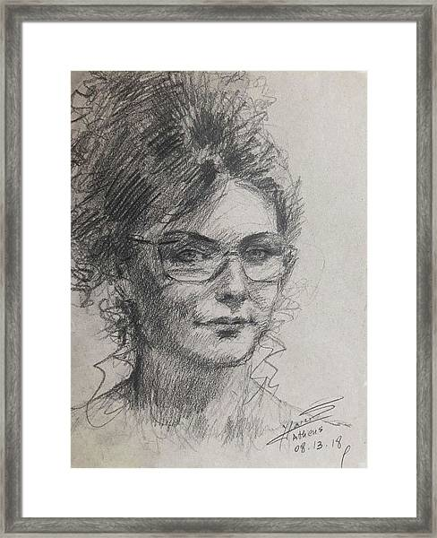 Pencil Sketch Framed Art Prints | Fine Art America