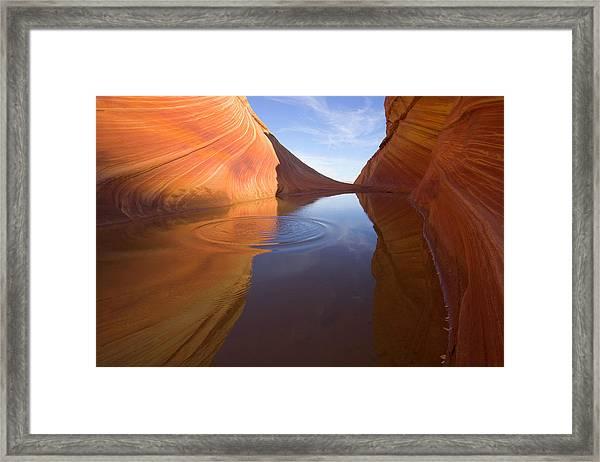 Usa, Arizona, Vermilion Cliffs Framed Print