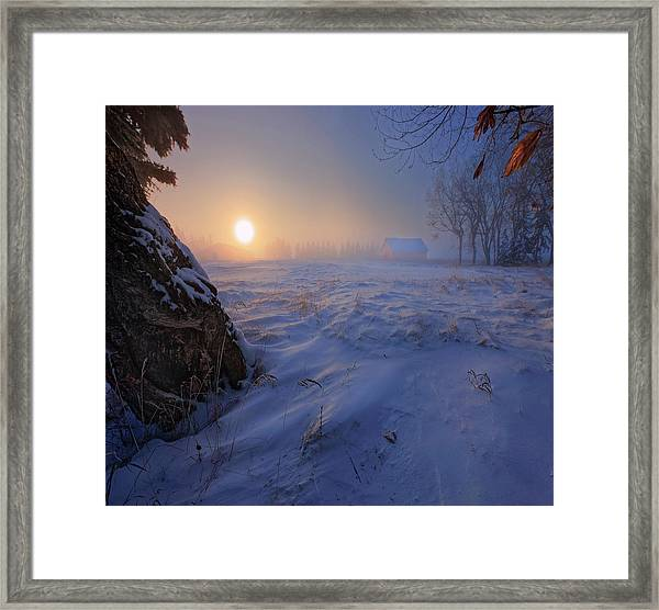 -30 Celsius Framed Print