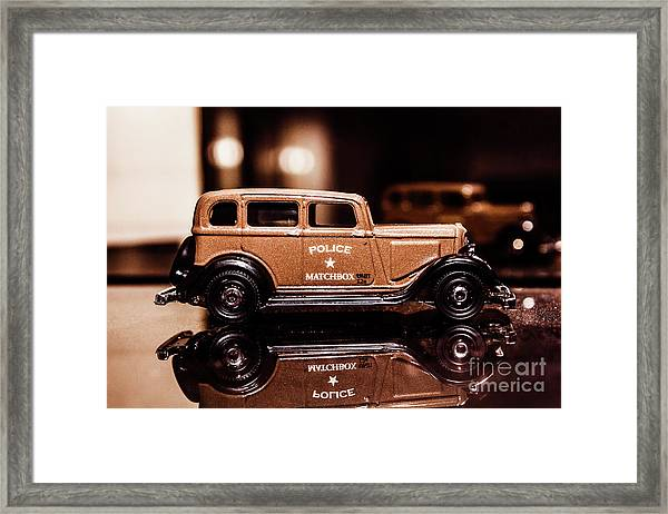 33 Plymouth Police Framed Print
