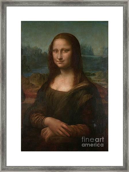 Mona Lisa Framed Print