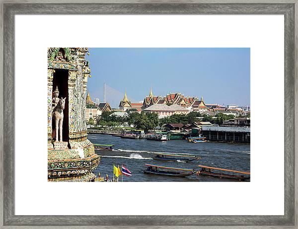 Bangkok, Thailand Framed Print by Miva Stock