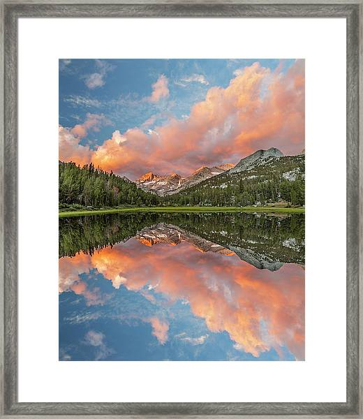 Marsh Lake At Sunrise, John Muir Framed Print by Adam Jones