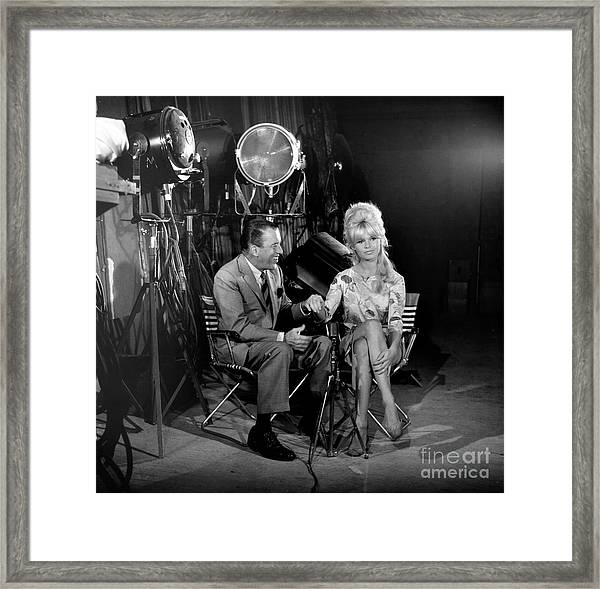 The Ed Sullivan Show Framed Print by Cbs Photo Archive