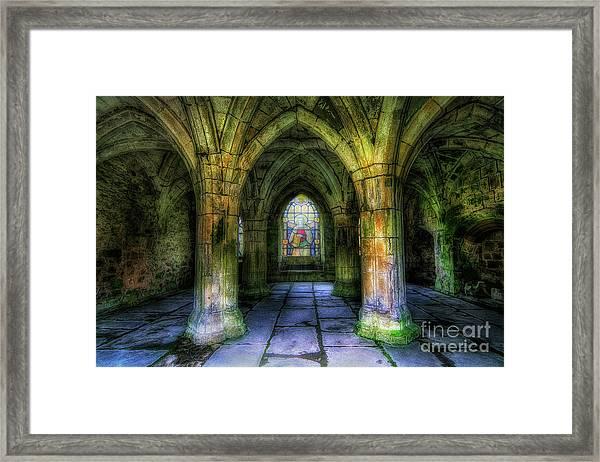 Valle Crucis Abbey Framed Print