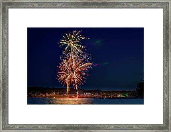 4th Of July Framed Print