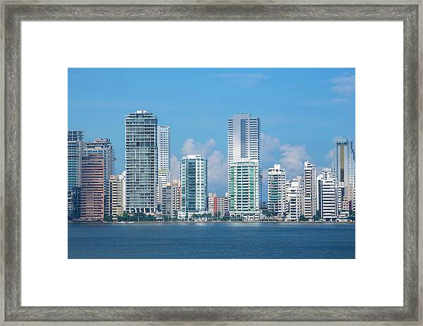 Colombia, Cartagena Framed Print by Cindy Miller Hopkins