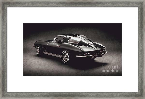 63 Chevrolet Corvette Stingray Framed Print