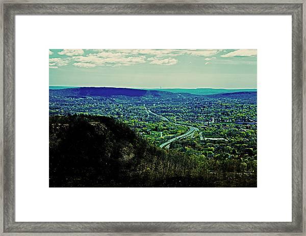 691 Framed Print