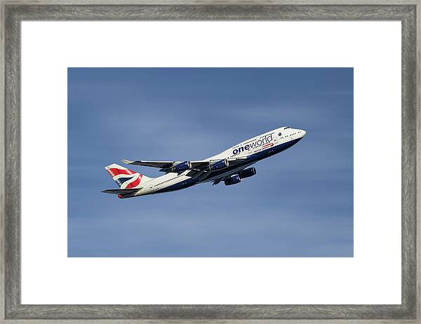 British Airways Boeing 747-436 Framed Print