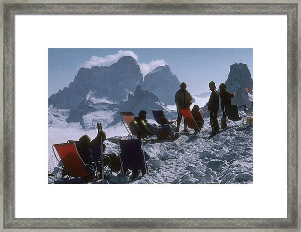 Cortina Dampezzo Framed Print
