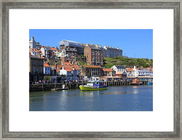 England, North Yorkshire, Whitby Framed Print by Emily Wilson