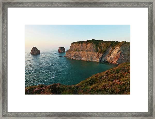 France, Pyrenees Atlantiques, Basque Framed Print