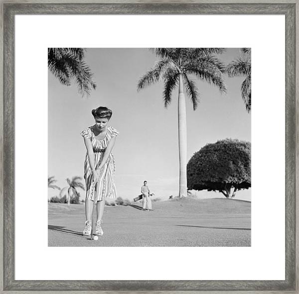 Havana, Cuba Framed Print by Michael Ochs Archives