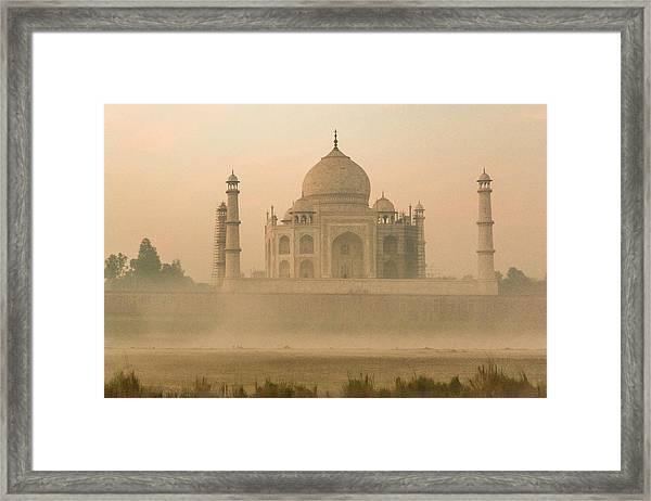 India, Uttar Pradesh Framed Print by Alison Jones