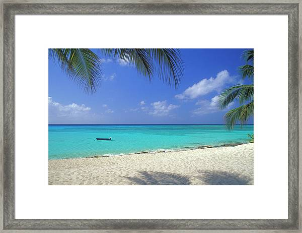 7 Mile Beach, Cayman Islands Framed Print
