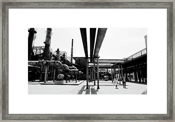 798 Art Zone Framed Print