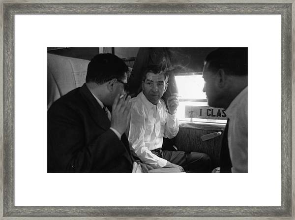Lucky Luciano Framed Print