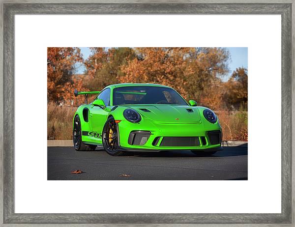 #porsche 911 #gt3rs #print Framed Print