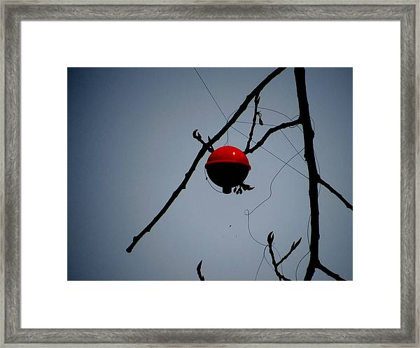 A Bad Day Fishing Framed Print