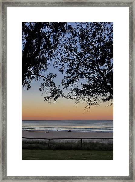 A Beautiful Place To Be Framed Print
