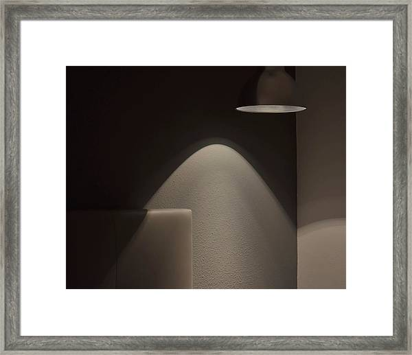 A Bedroom Corner Framed Print