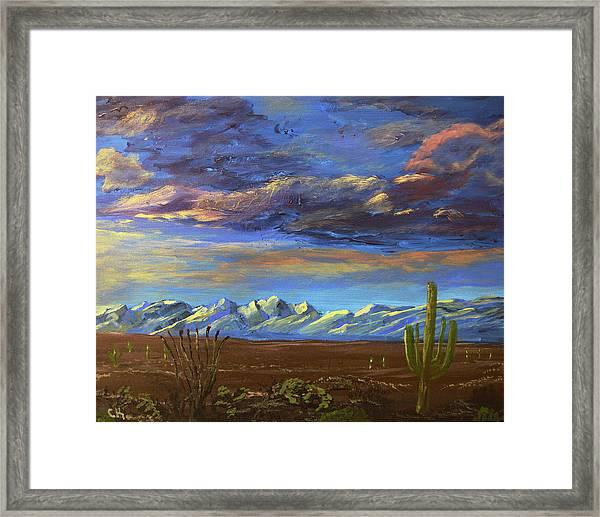 A Catalina Winter Framed Print