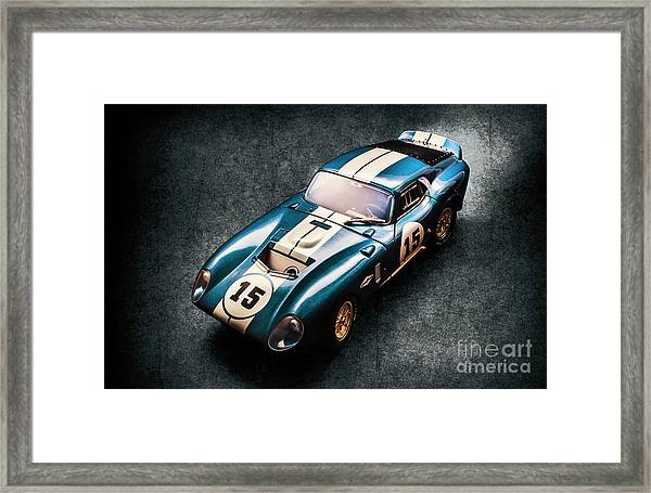A Daytona Classic Framed Print