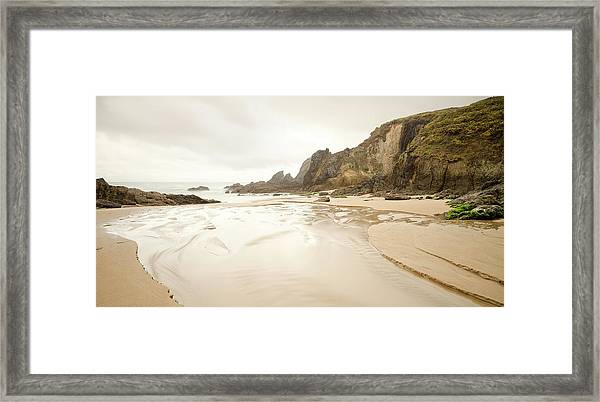 A Frouxeira Beach Framed Print