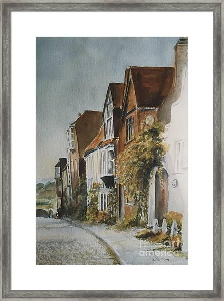 A Lane In Rye, East Sussex Framed Print