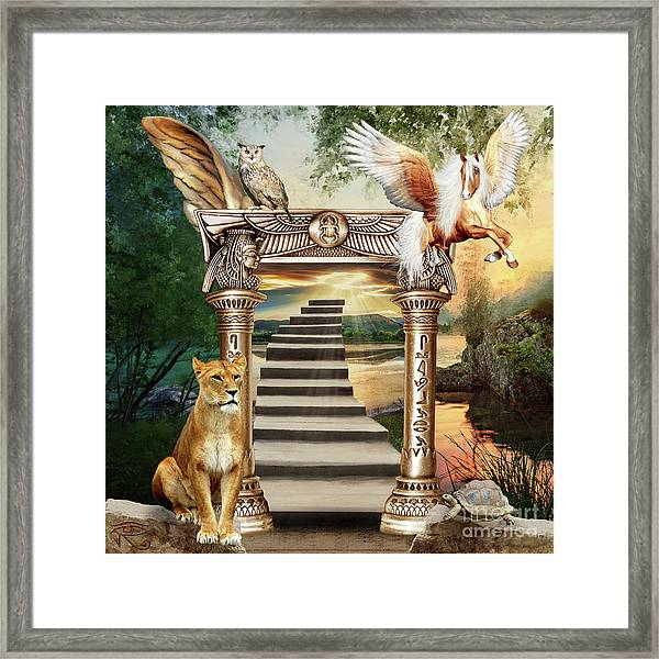 A Path To Enlightenment Framed Print