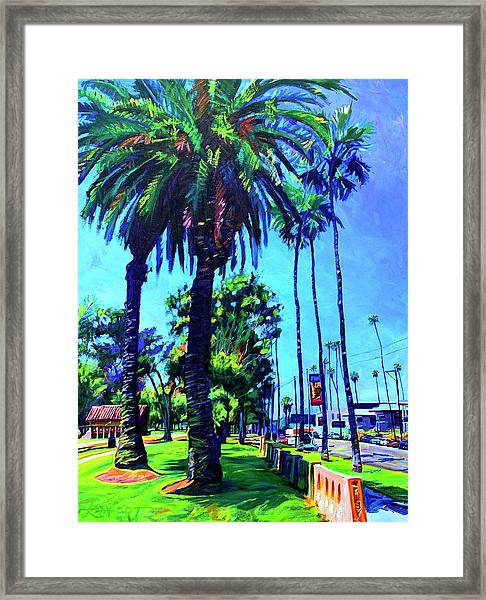 A Place Of Calm Framed Print