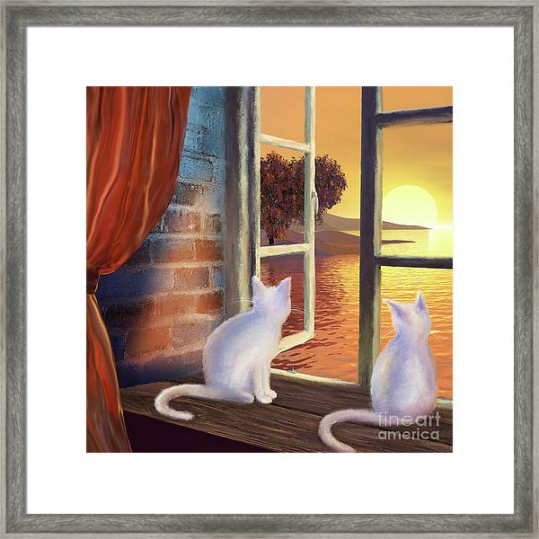 A Room With A View 2 Framed Print