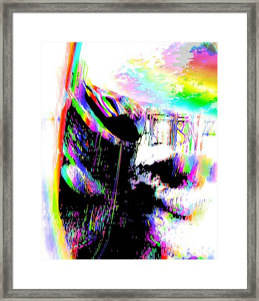 A Rough Journey To Pride  Framed Print