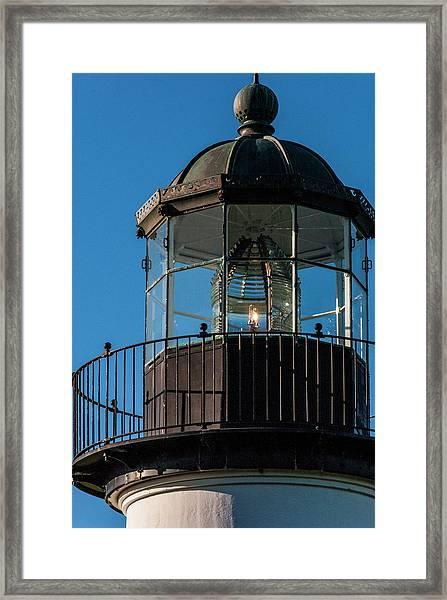 A Sailor's Beacon Framed Print