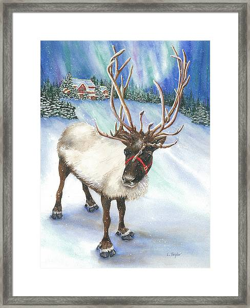 A Winter's Walk Framed Print