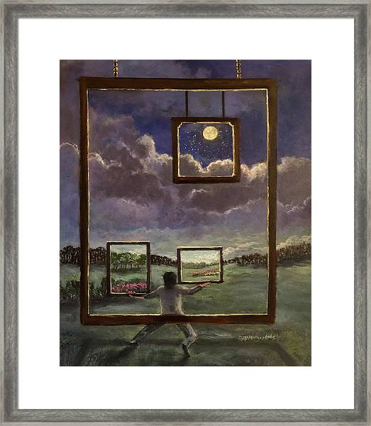 A World Of Visions Framed Print