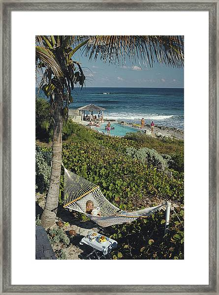 Abaco Holiday Framed Print